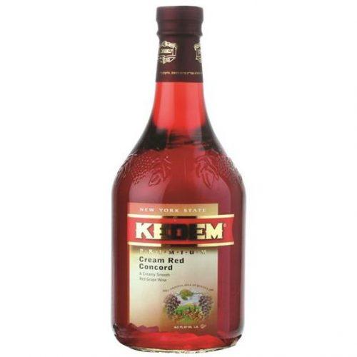 Kedem Cream Red Concord